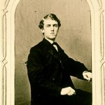 Amos Lawrence Hopkins, Williams Class of 1863 formal graduation photograph.