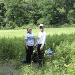 Students Standing in Field